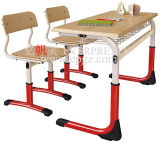Dubbele Student Desk en Chair (GH-56)