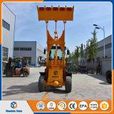 値段表が付いている連結された中国の小型車輪のローダー