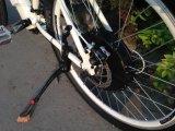Motor elétrico MTB da bicicleta 8fun dentro da bateria de lítio no frame