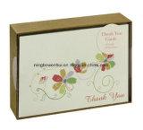 Fabriqués à la main amicaux professionnels d'Eco vous remercient modèle de cartes de voeux