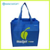 Sac recyclable non tissé Brs-003 d'emballage imprimé par logo fait sur commande