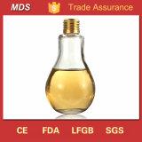 一義的なデザイン400ml電球のガラス飲料のびんの卸売