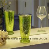 Vaso di fiore di vetro colorato dell'elettrodomestico decorativo della cristalleria