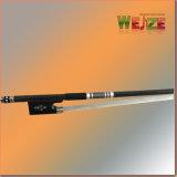 High Levle Ebony Frog Arco de fibra de carbono violín