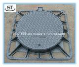 タンク排水の鋳鉄のマンホールカバー