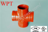 Qualité Grooved Equal Cross pour Fire Protection