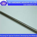 Qualité DIN975 Rod fileté galvanisé