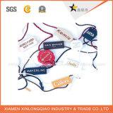 Ярлык печатание стикера ткани одежды логоса стежком ткани изготовленный на заказ