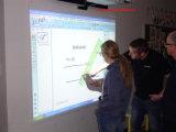 La téléconférence interactive portative d'écran tactile de doigt de Multi-Langages 10 points Multi-Touchent le panneau sec