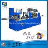 Prix gravant en relief se pliant de vente chaud de machine à emballer de papier de mini de soie faciale serviette de papier de soie