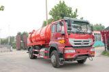 10000-16000L Euro IV 4X2/6X4 Suction Sewage Truck