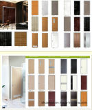 Puerta de madera interior profesional de madera sólida del diseño