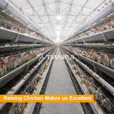 Конструкция фабрики тип автоматическая система клетки цыпленка батареи бройлера