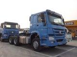 Sinotruk HOWO Zz4257s3241W 6X4 371HPのトラクターのトラック