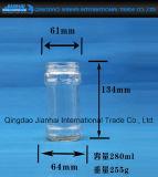 Bouteille en verre de conteneur de sauce à s/poivron pour l'encombrement