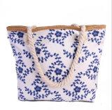 Do saco Handmade Handmade novo da mamã da grande capacidade do saco da praia das bolsas da forma saco de ombro novo