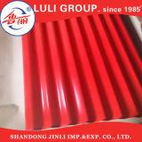 lamiera di acciaio sinusoidale galvanizzata 0.15-0.30mm di profilo del tetto d'acciaio