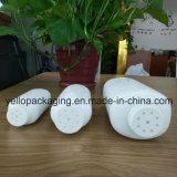 Botella plástica vendedora caliente 100g/200g/500g del polvo de talco del bebé