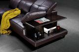 Sofá Home moderno novo do couro da sala de visitas da mobília ajustado (HC8116)