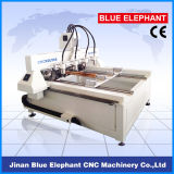 Ele-0809 Multi Spindle 4 Axis CNC Router, Multi Spindle CNC Router Rotary 4. Axis, Automatic 3D Wood Carving CNC Router für Sale