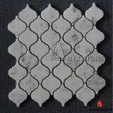 Azulejos de mosaico del mármol del blanco chino para la decoración de la pared