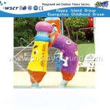 Возбужденные Дети играют аквапарк игры на складе (HD-7313)
