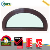 Doppia stoffa per tendine superiore lustrata australiana Windows dell'arco di UPVC