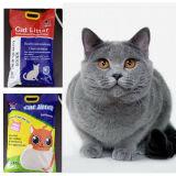 Eco-Friendly 제품 자연적인 백색 먼지가 없는 벤토나이트 고양이 배설용상자 #19