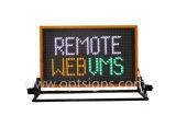 Im Freiengebrauch-Verkehrssteuerung LED-Bildschirmanzeige-LKW eingehangene VMs