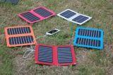 carregador Foldable solar do telefone móvel de 6W Sunpower para o livro elétrico do iPad