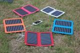 6W SunpowerのiPadの電気本のための太陽Foldable携帯電話の充電器
