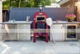 304 Openlucht het Leven van het roestvrij staal Keuken met BBQ (wh-D404)