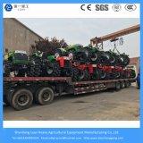 農業装置の農業機械の小型歩くか、または耕作するか、または芝生またはコンパクトなか小型または電気トラクター
