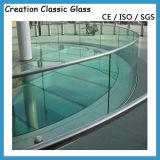 vidro curvado quente de 5mm-12mm - vidro curvado (moderado)