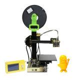 2017 고품질 Fdm 소형 휴대용 DIY 탁상용 3D 인쇄 기계