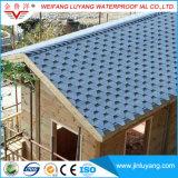 Tipo azulejo de material para techos colorido de asfalto, ripia de impermeabilización del mosaico de la fuente de China