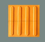 Bunte Sicherheits-Gummistraße Belüftung-Tastfliese-Stifte