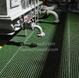 Grille moulée par FRP pour le plancher