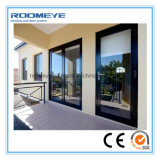 Ventana y puerta de aluminio modificadas para requisitos particulares alta calidad de desplazamiento de Roomeye