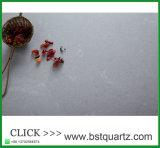 Bancada estratificada do console de cozinha de Pefab da pedra de quartzo do cinza enevoado
