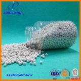 ガスおよび液体乾燥で使用される4Aゼオライトの分子ふるい