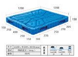 Pallet di salto di plastica resistente dell'HDPE con quattro modi