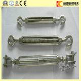 Tipo torniquete del acero inoxidable M4-M20 de la quijada del ojo del gancho de leva del hardware del aparejo