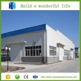 Plantas estruturais de aço do projeto de construção da oficina do frame