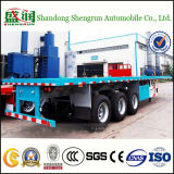 40FT Flatbed Container Cargo Semi Truck Trailer