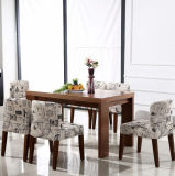 Hölzernes Dining Table mit Dining Chairs Dining Sets (M-X1009)
