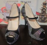 Fashion Peep Toe High Heel Dress Shoes (HCY02 - 1489)