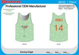 Camiseta de secado rápido cómoda de Runninf de la venta de la alta calidad de la marca de fábrica de encargo caliente de la sublimación