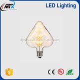 Lâmpada LED de luzes de fronteira, diodo de filamentos lâmpada elétrica lua decorativa