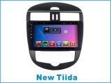 차 GPS/Car 선수 항법을%s 가진 닛산 새로운 Tiida를 위한 인조 인간 시스템 차 DVD